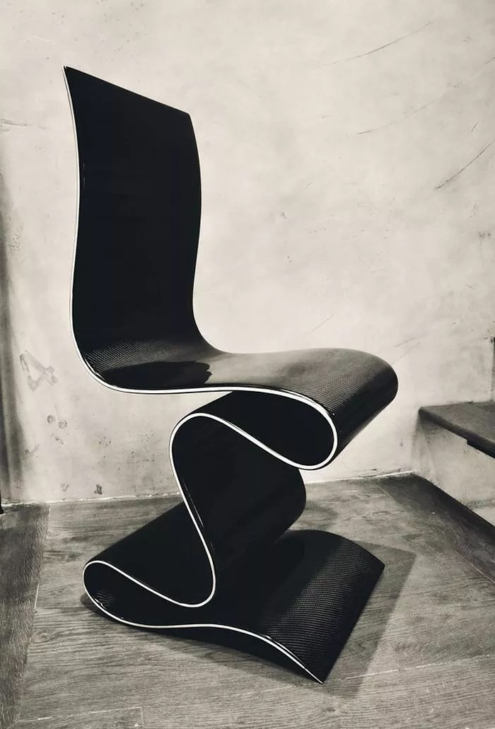 SCULPTURE Carbon Fiber Chair by Ventury Lab  Design Is This