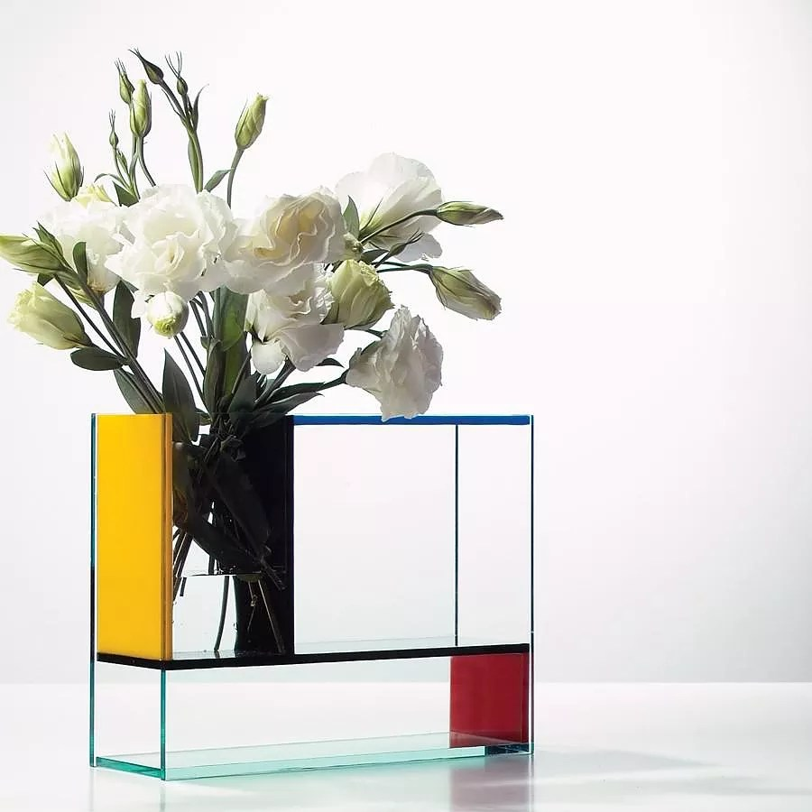 Mondri Vase a Gorgeous 3 in 1 Mondrian Inspired Vase