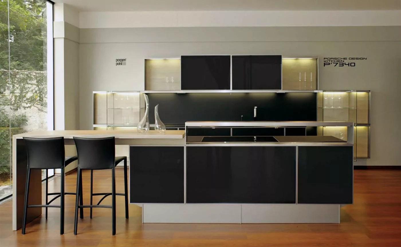 kitchen food preparation table kohler barossa faucet poggenpohl porsche design p7340 - is this