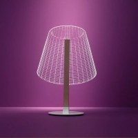 BULBING 2D Optical Illusion Lamps by Studio Cheha.