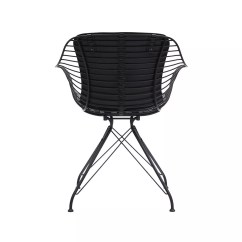 Black Wire Chair Luxury Leather Office Chairs Uk Dining By Overgaard And Dyrman Design Is This