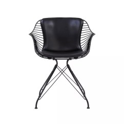 Black Wire Chair Dining Slip Covers Canada By Overgaard And Dyrman Design Is This