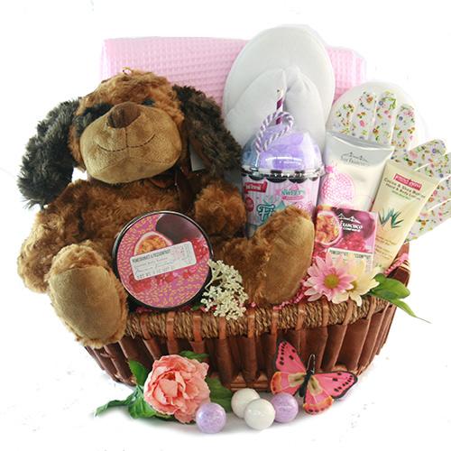 Valentines Day Gift Baskets Puppy Love Valentines Gift
