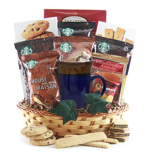 Starbucks Coffee Gift Baskets Wake Up Call Starbucks