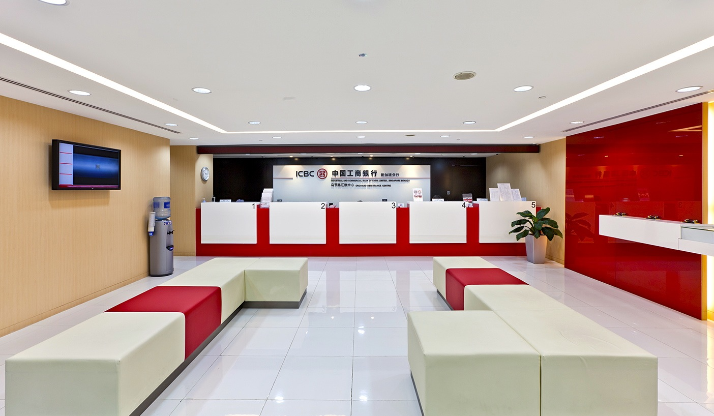 ICBC Bank Lucky Plaza  Design Junction
