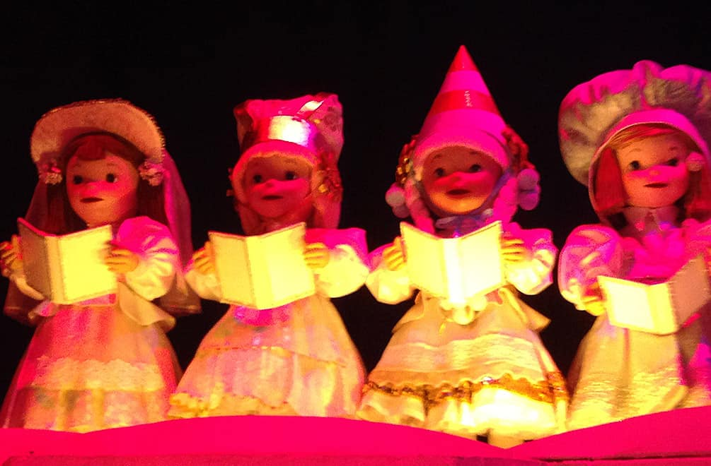 "Dolls from Mary Blair's ""It's a Small World"""