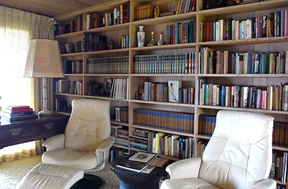 library of the Liljestrand House