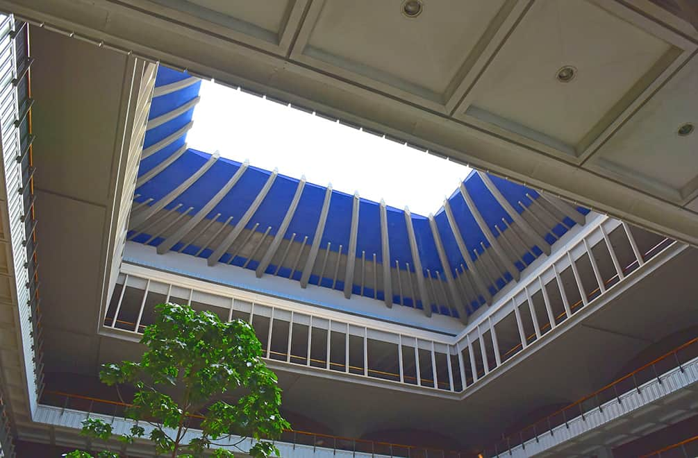 hawaii capitol open roof