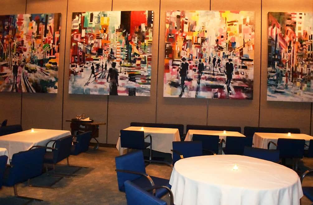 The Four Seasons Restaurant upper room