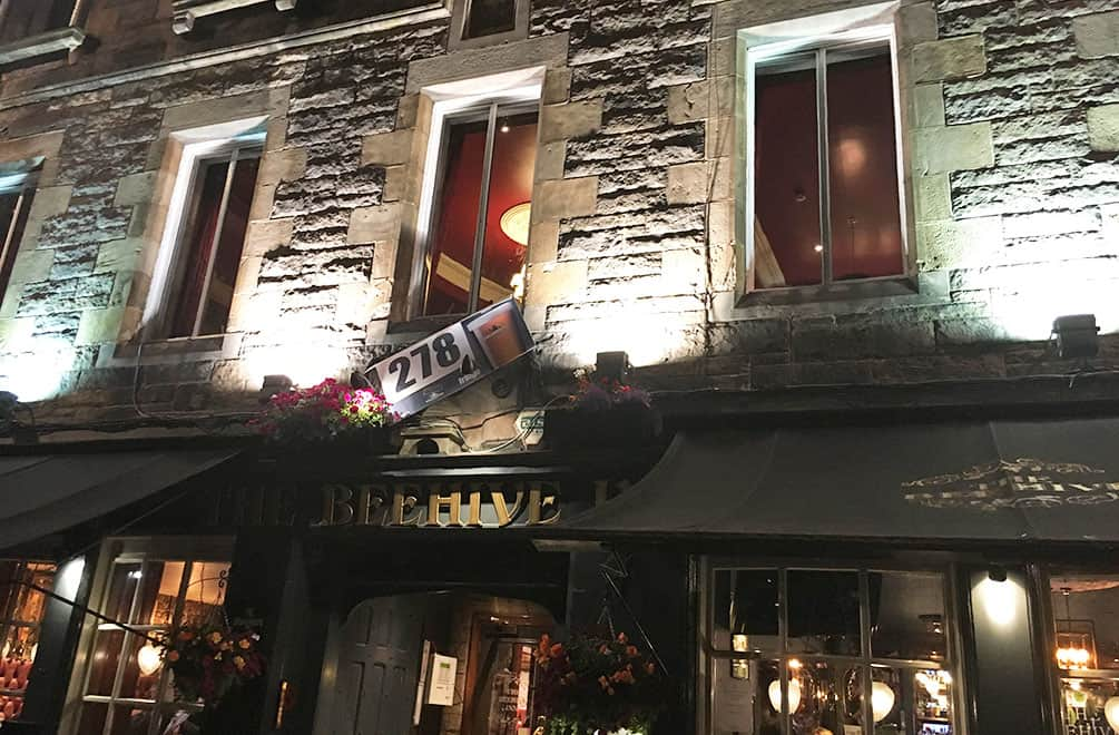 Beehive Tavern, a Edinburgh Fringe Festival venue