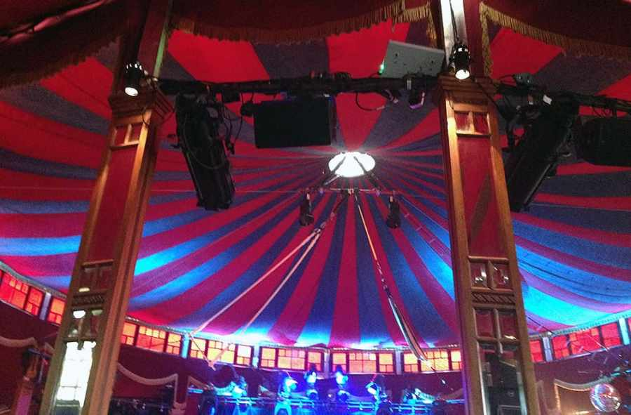 Speigeltent at the Edinburgh Fringe Festival