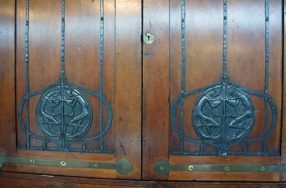 Mackintosh cabinet metalwork