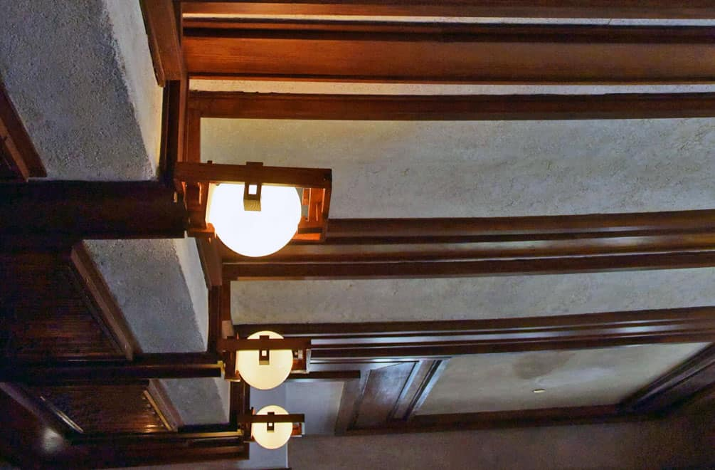 Robie House Lighting