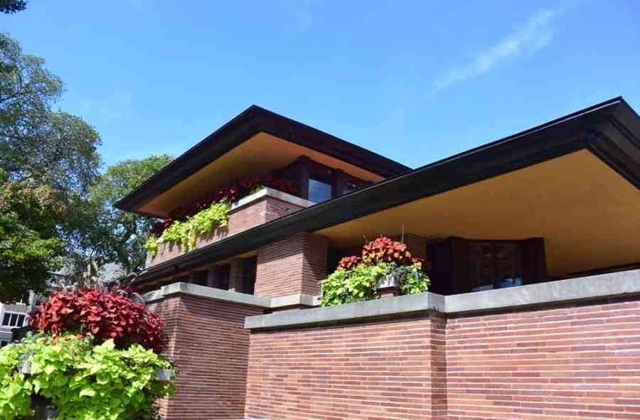 Robie House cantilevers