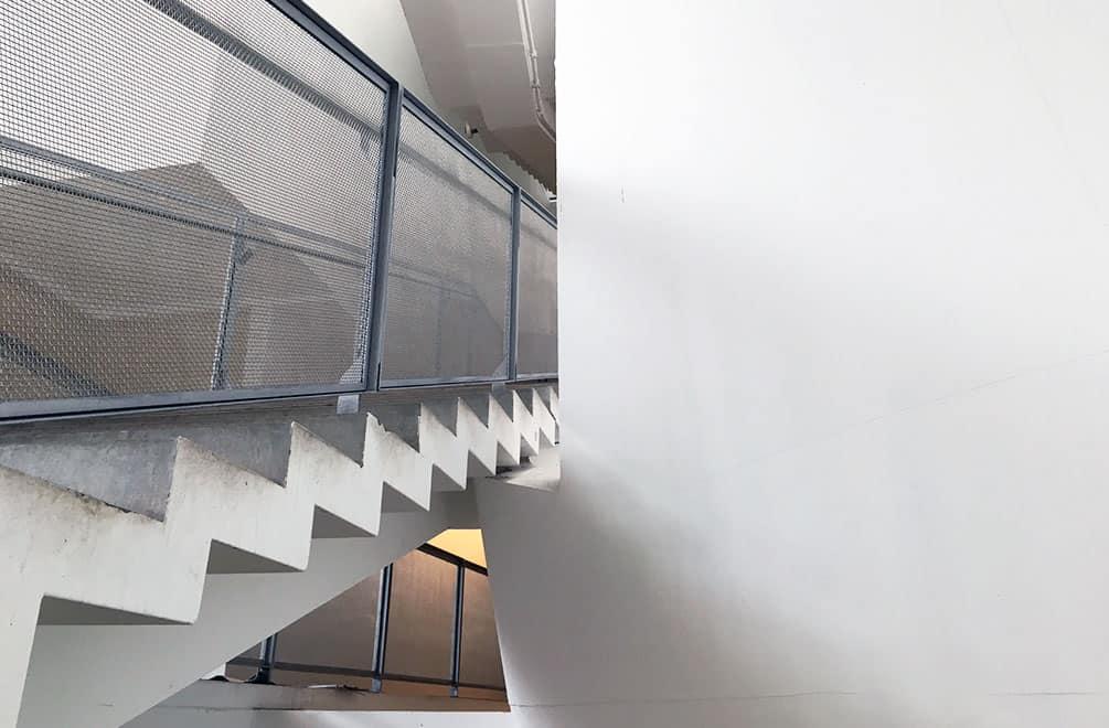 Glasgow School of Art Reid Building Staircase