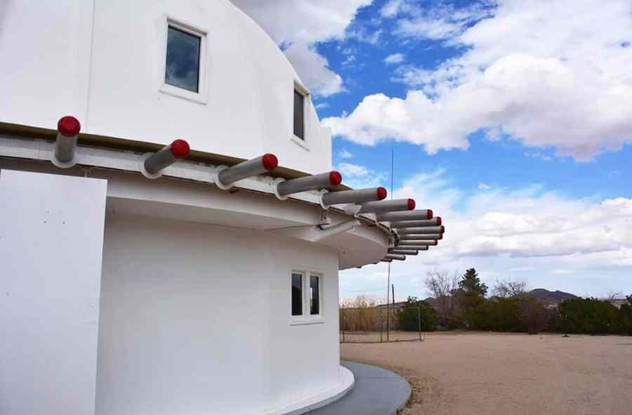 The Integratron dome in Landers, California