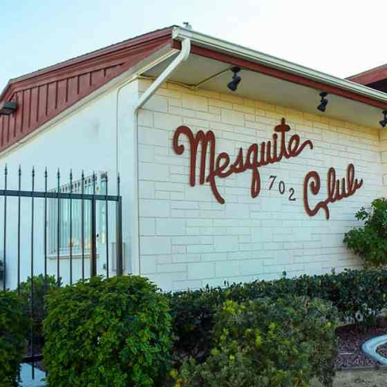 Front of the Mesquite Club in Las Vegas