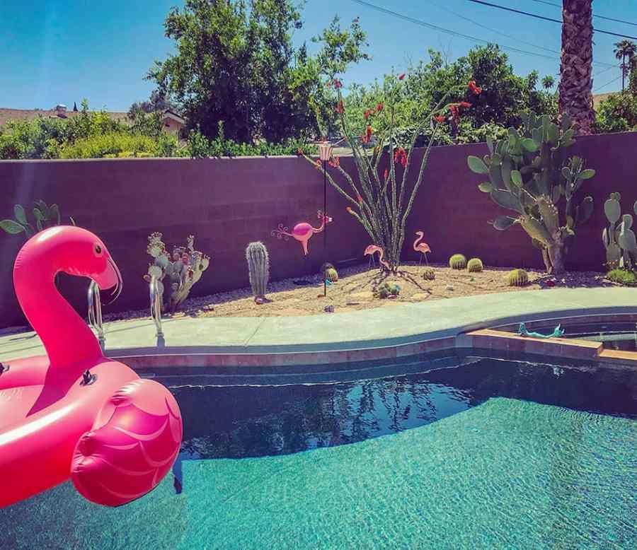 Pool on Vintage Vegas Home Tour