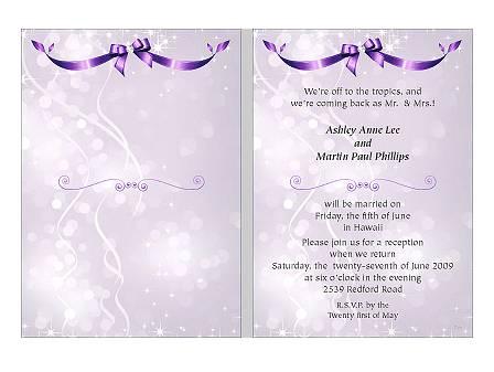 Farewell Invitation Cards – Invitation Card for Farewell