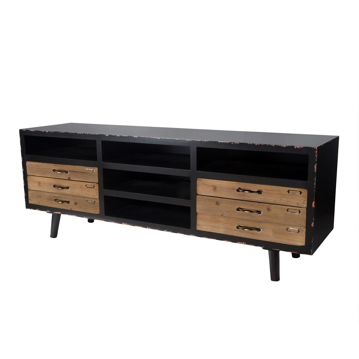 meuble tv vintage design lab furniture