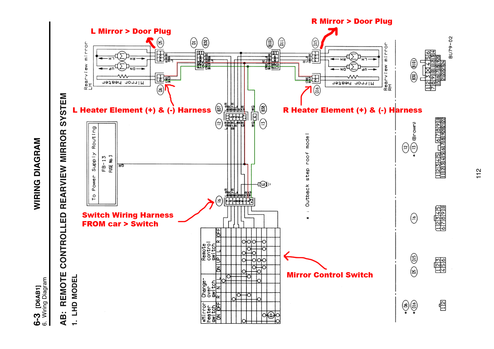 2004 subaru wrx radio wiring diagram 06 ford escape fuse box impreza fog light diagrams
