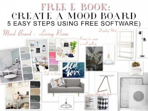 Interior design tools 5 tips why you need the humble notebook for Interior design mood board software