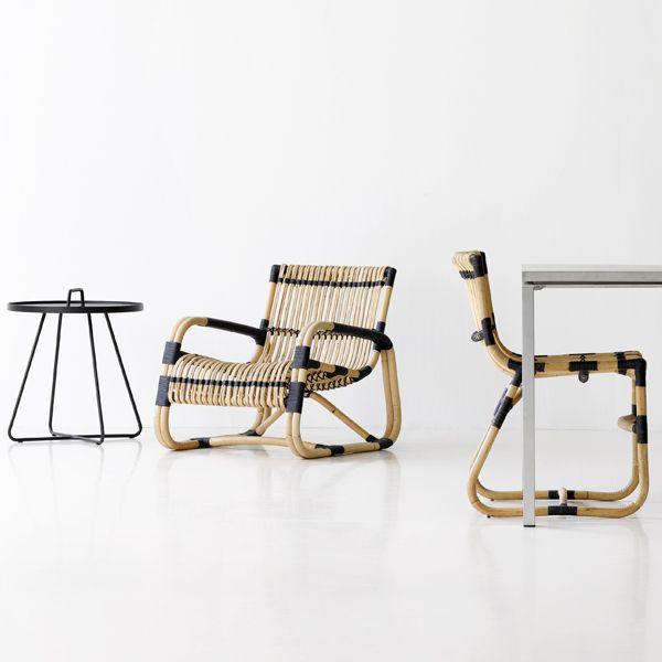 Curve Lounge Chair via Spence & Lyda - Belle December January 2015-16 | designlibrary.com.au