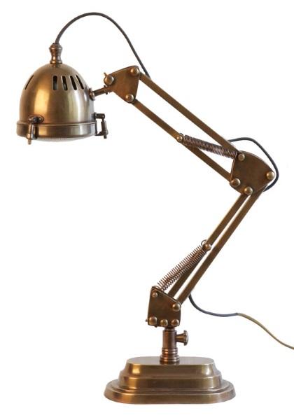 Weylandts - Jaguar Adjustable Desk Lamp - Belle December January 2015-16 | designlibrary.com.au