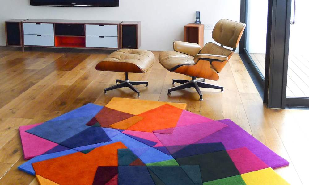 Exceptional Contemporary Rugs Bursting With Vibrancy
