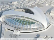 New Football Stadium Inspired by Brancusi's Work To be ...