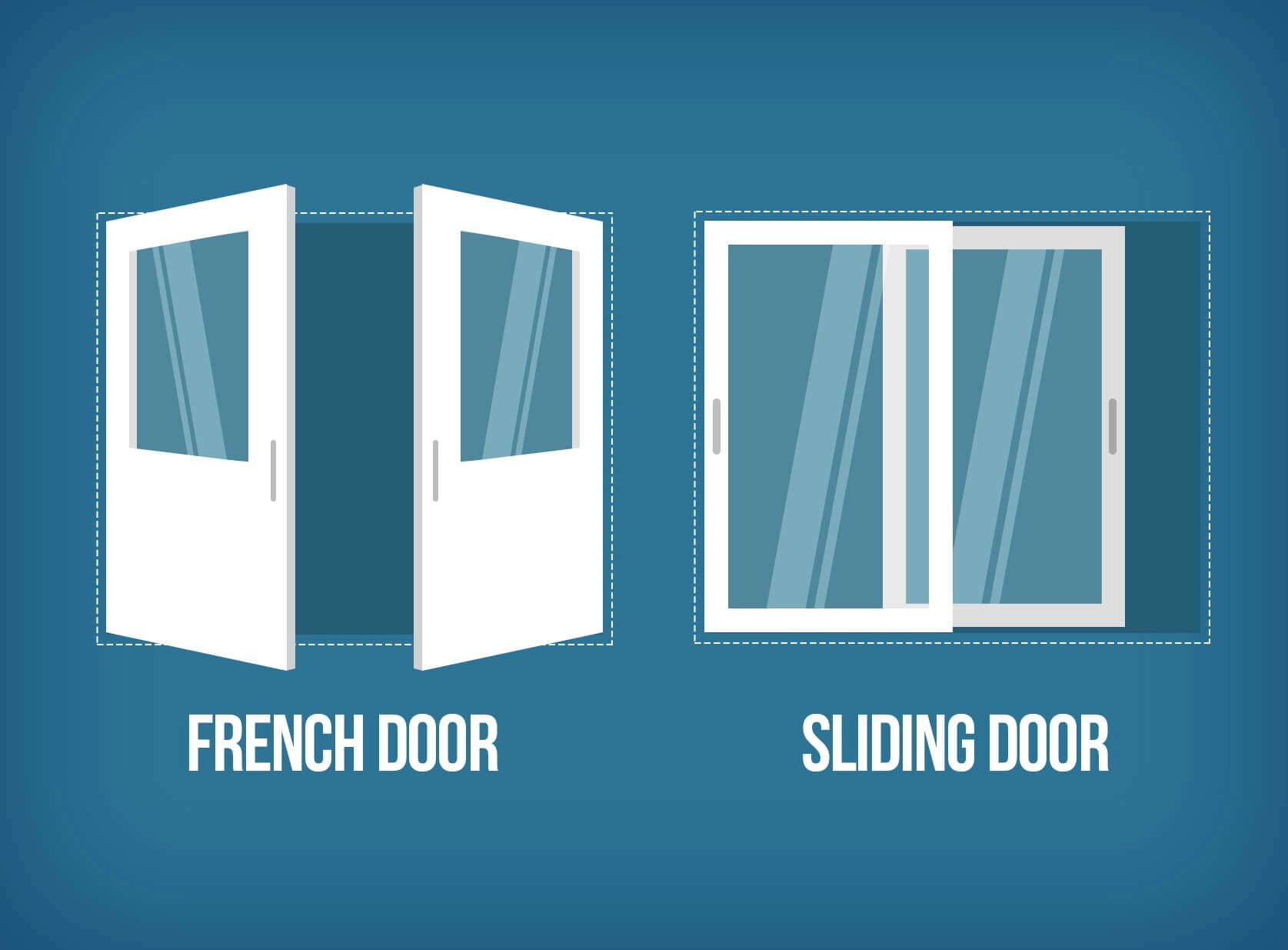 Sliding vs. French Patio Doors: What to Choose?  Interior