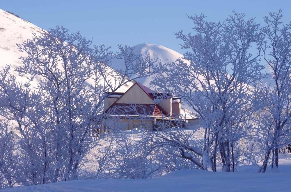 mountains home