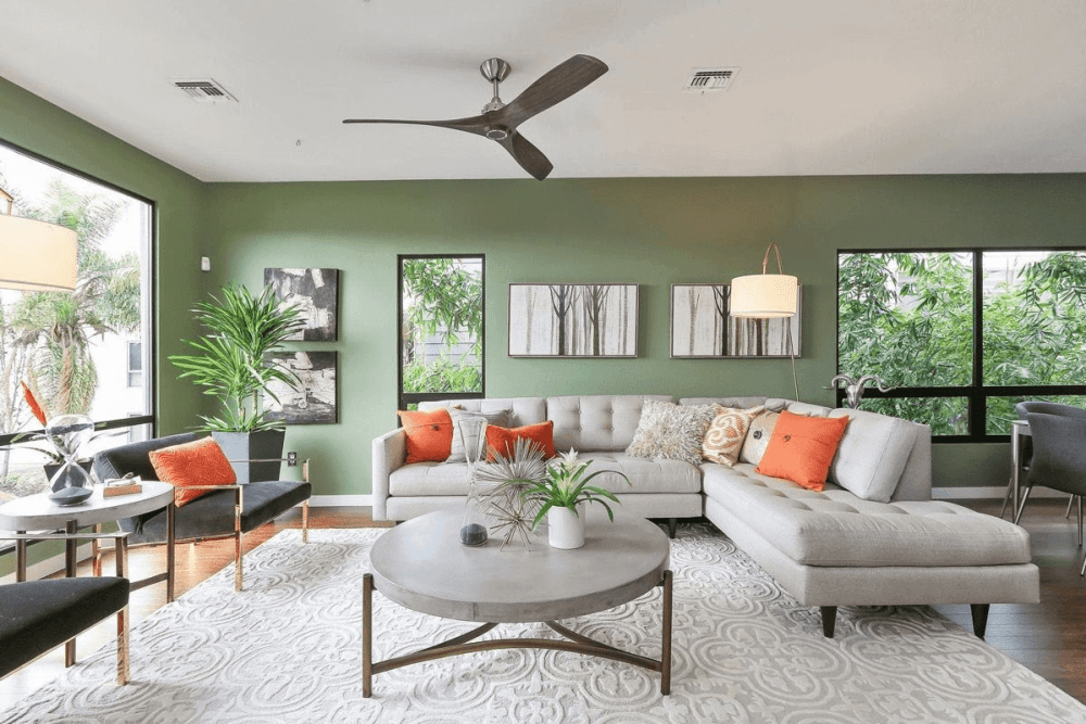 9 Gorgeous Green Living Room Ideas – Interior Design