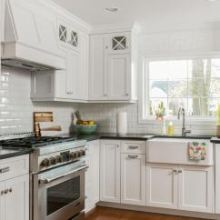 South Jersey Kitchen Remodeling Cabinet Color A Look At Classic White Shrewsbury New By ...