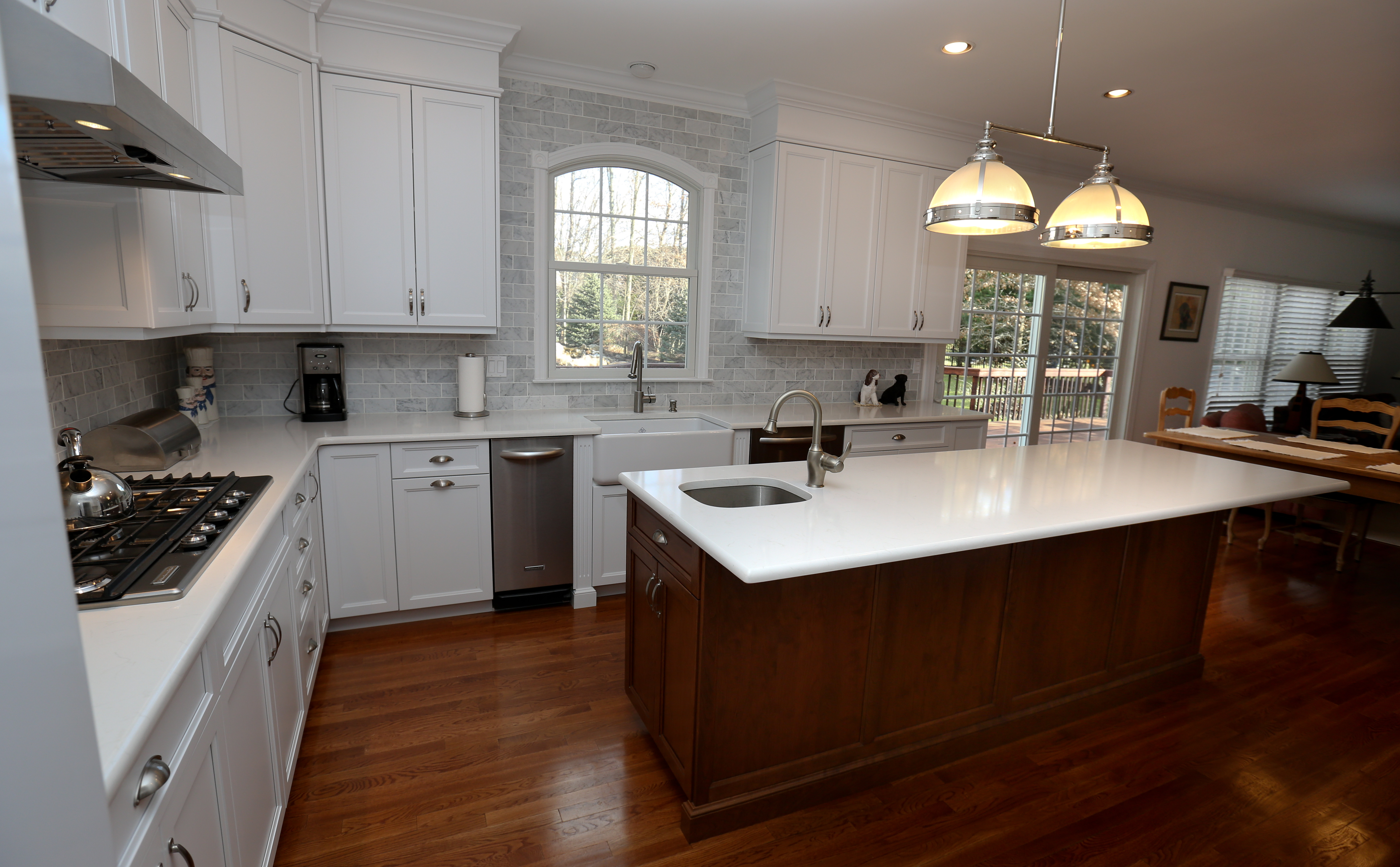 south jersey kitchen remodeling runners rugs white - cherry island little silver new by ...