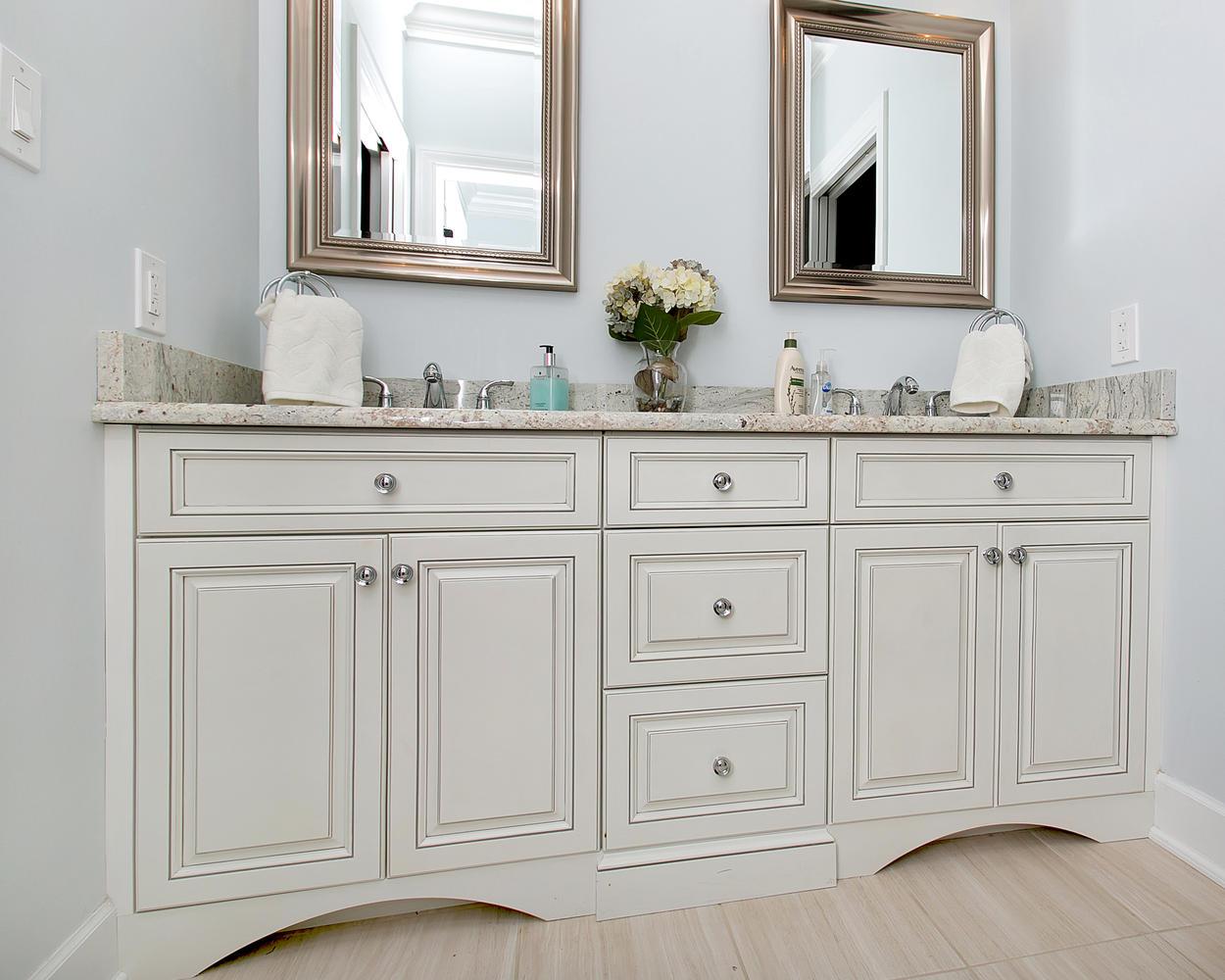 Custom Vanity  Bathroom Cabinetry  Design Line Kitchens in Sea Girt NJ