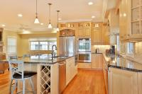 Natural Stained Wood Kitchen Toms River New Jersey by ...