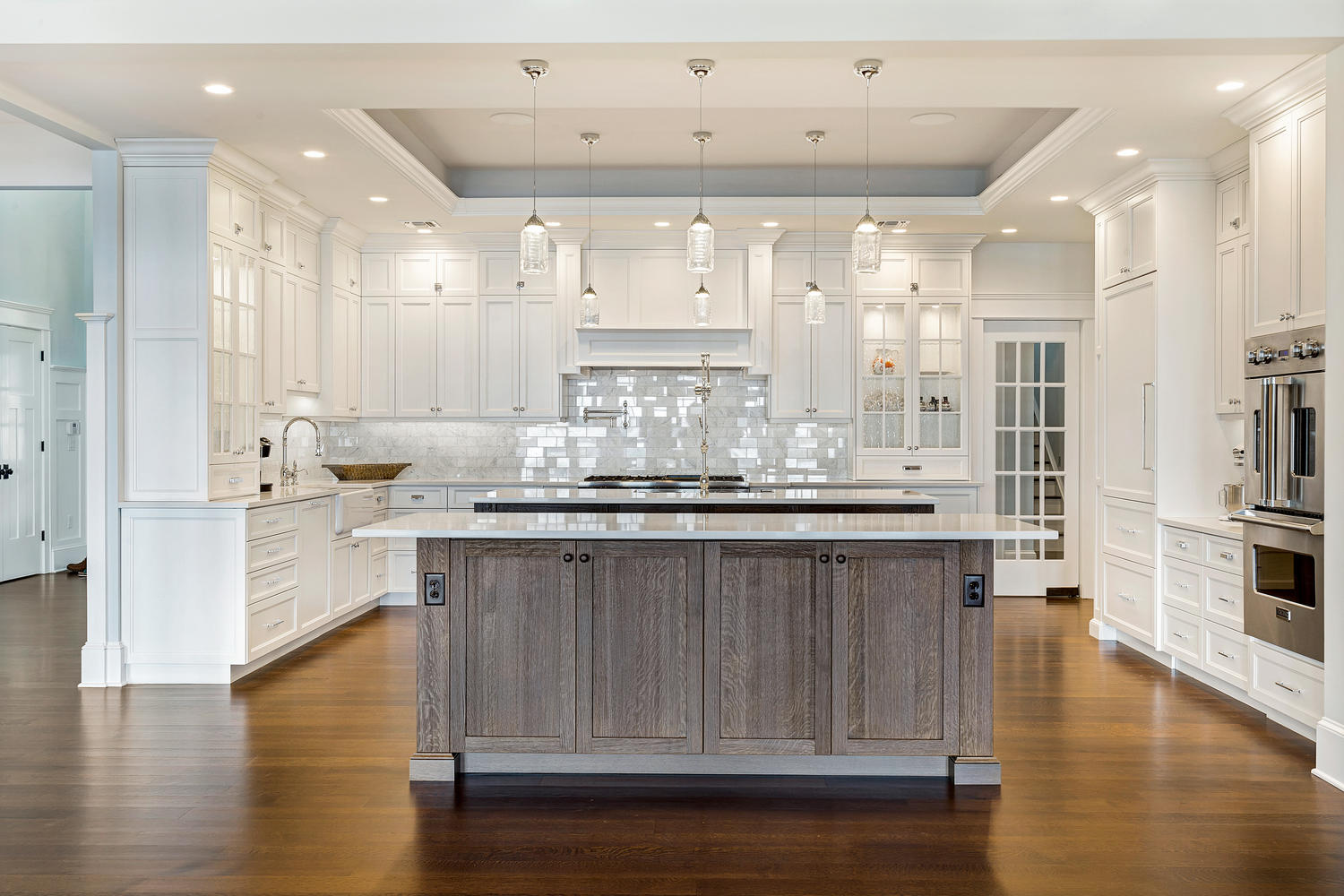 kitchen cabinet range hood design pulls and handles for cabinets coastal dream brick new jersey by line kitchens