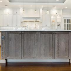 Stainless Steel Trash Can Kitchen White Cabinets Lowes Islands & Peninsulas | Design Line Kitchens In Sea ...