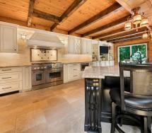 Log Cabin Kitchen Howell Jersey Design Line Kitchens