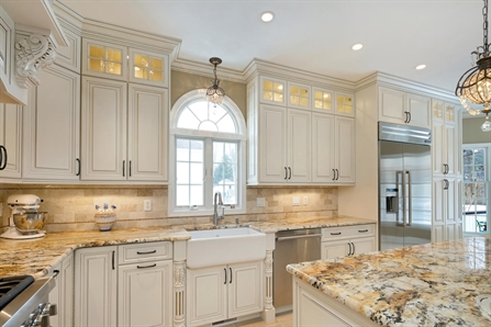 storage cabinets for kitchen tables art van a winning classic allenwood new jersey by design line kitchens