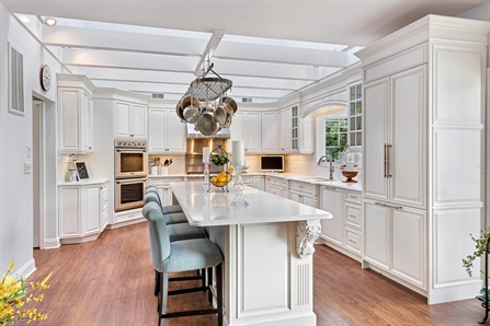 Luxury White Kitchen Avon NJ by Design Line Kitchens
