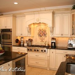 Tuscan Style Kitchen Chair With Arms Oakhurst Nj By Design Line Kitchens Wood Hood
