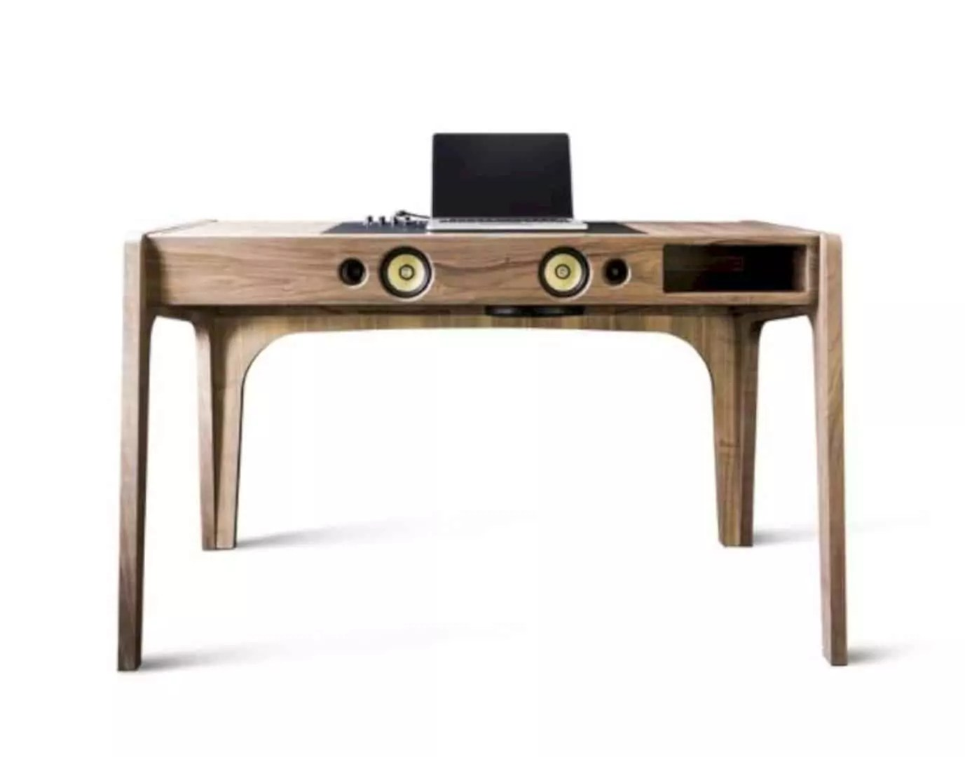 two in one furniture. You Can Put All Your Office Stuff In It. This Additional Storage Place Will Make Audio System Surface Keep Tidy And Two One Furniture O