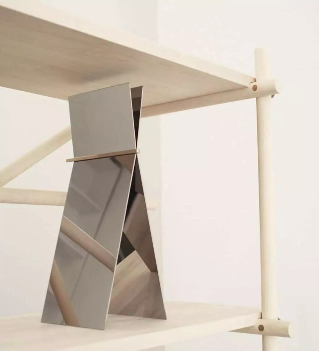 I'll be Your Mirror: Sculptural Table Mirror