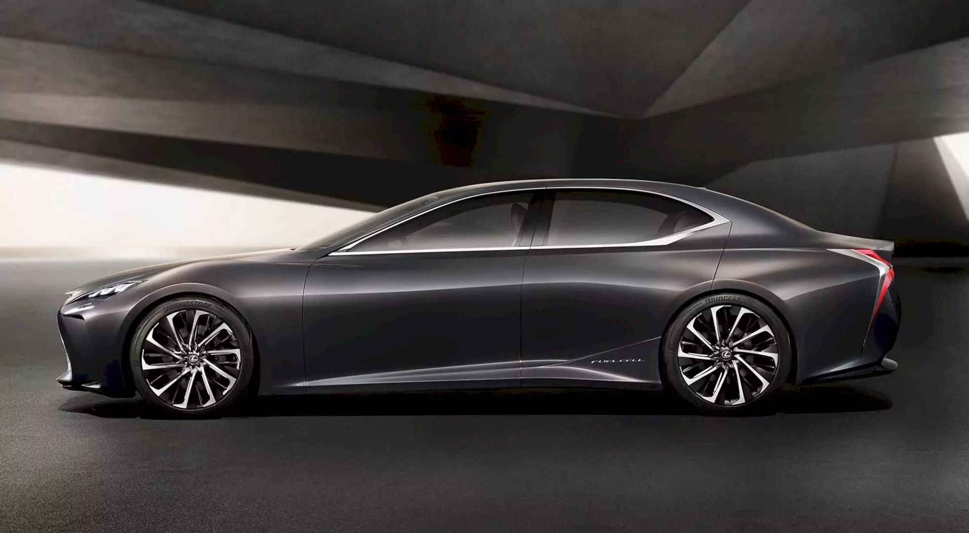 """Fueling the Unexpected"" - Lexus LF FC Concept Car"
