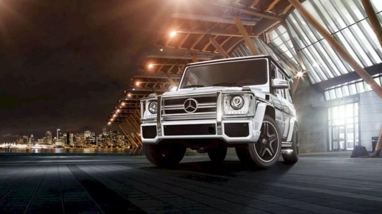 The New Mercedes Benz G Class 1