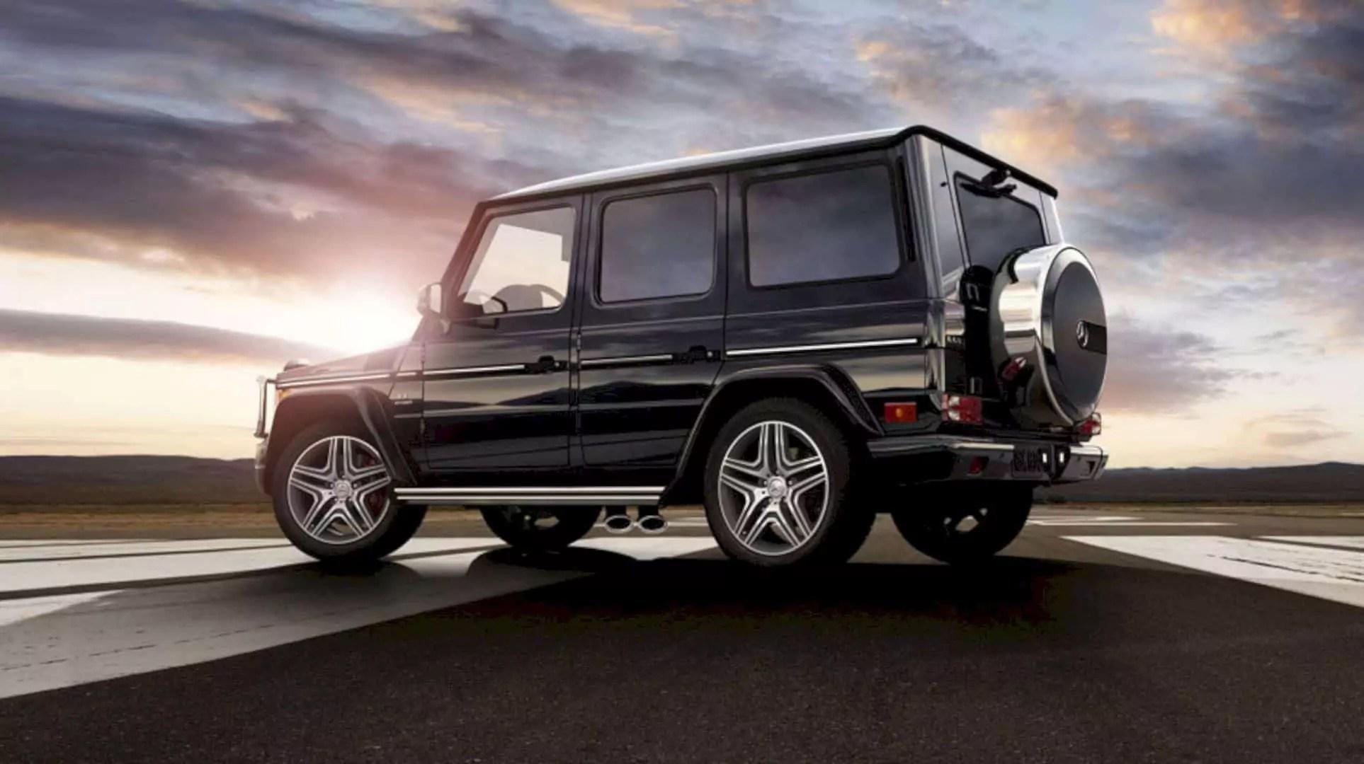 The New Mercedes Benz G Class 7