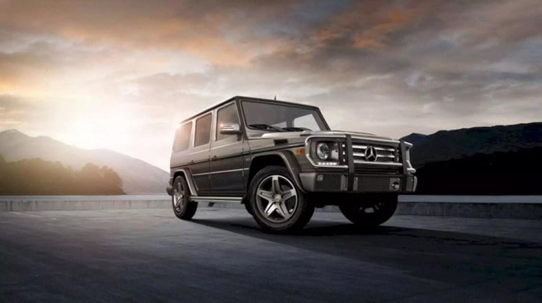 The New Mercedes Benz G Class 8