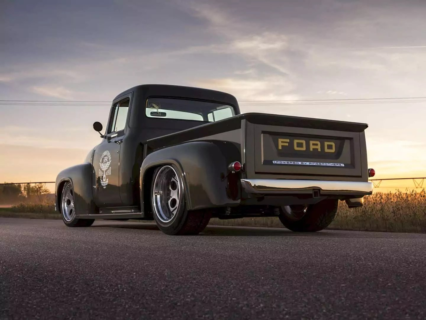 1956 Ford F100 Truck Clem 101 By Ringbrothers The Epitome Of 1954 1